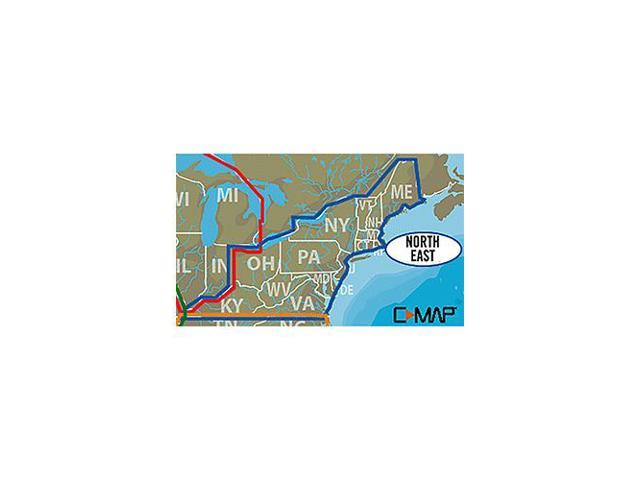 LOWRANCE 000-13728-001  C-MAP LAKE INSIGHT HD NORTH EAST UNITED STATES