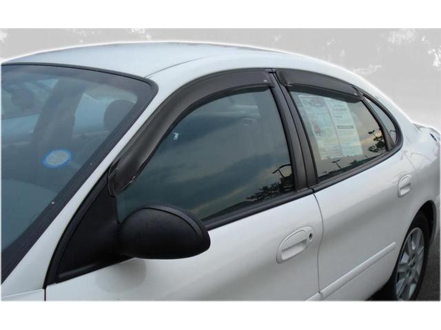 4-Piece Set for 1996-2007 Ford Taurus Auto Ventshade 94847 Original Ventvisor Side Window Deflector Dark Smoke