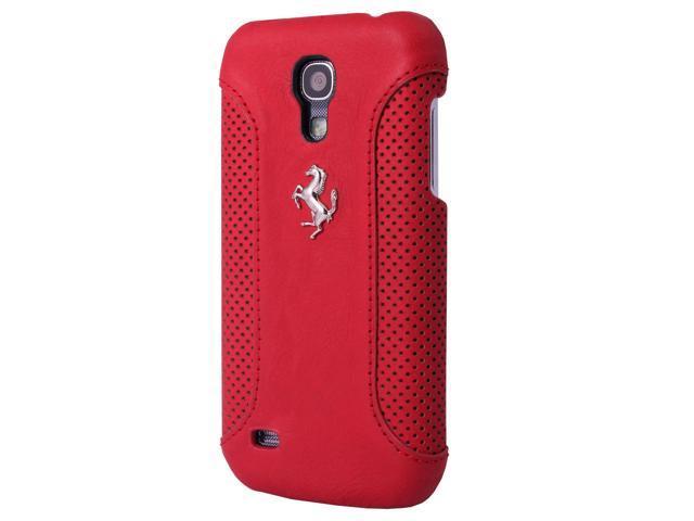 CG Mobile Ferrari Red Leather Hard Case Galaxy S4 FEF12HCS4RE - Newegg com