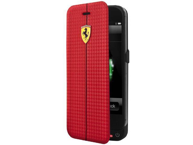 online store 8f3ed 2eff6 CG Mobile Ferrari Rechargeable Battery Power Case iPhone 5 / 5S  FEFOCBCBKP5RE - Newegg.com