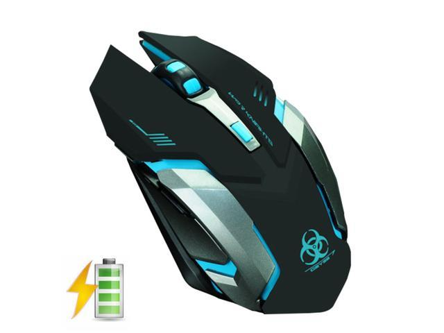 c4a986c6620 UrChoiceLtd 2016 EVESKY X7 Rechargeable 2.4GHz Wireless Mouses Silent USB  Mice Optical Ergonomic PC Gaming