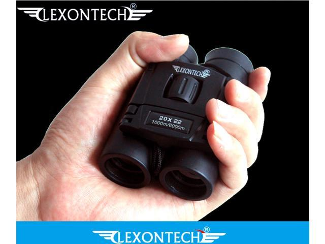 Lexontech 20x22 pocket size zoom hd binoculars telescope for hiking