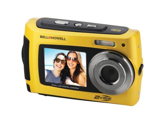 BELL HOWELL 2VIEW18 Y 2VIEW18 Dual Screen Waterproof HD Camera (Yellow) -  Newegg com