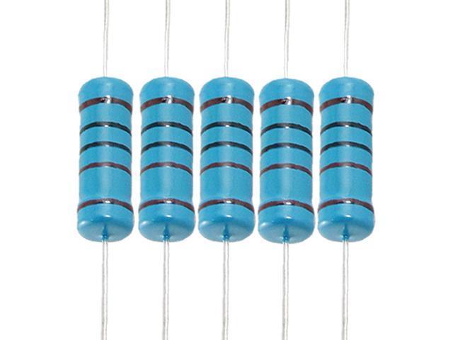 1//2W 0.15 Ohm Metal Film Resistors 0.5W 1/% Tolerances 5 Color Bands 50 Pcs