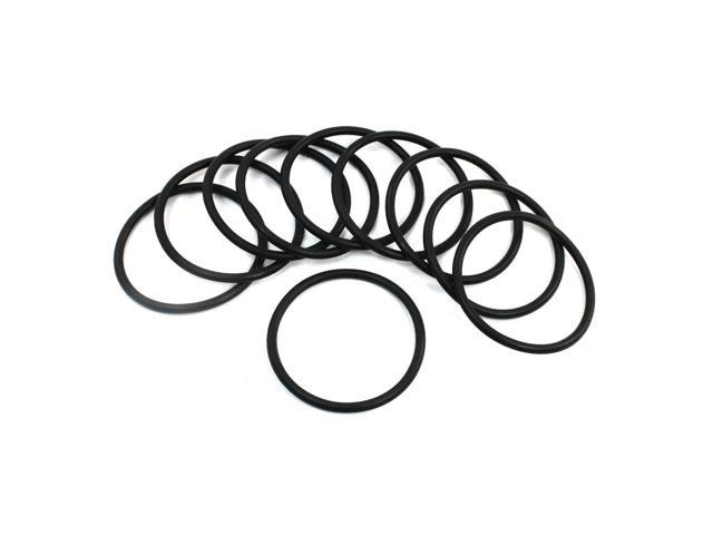 unique bargains 48mm x 3 1mm sealing oil filter pu o rings washers gaskets 10pcs