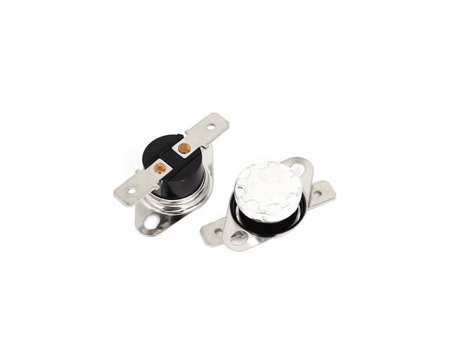 Temperature Switch Thermostat 10A 250V 113°F Degree Celsius N.O KSD301 45°C