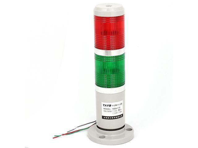 DC 24V Industrial Red Green LED Signal Steady Tower Lamp Warning ...
