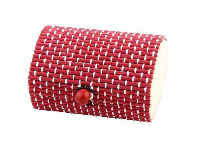 Unique Bargainswood Diy Handmade Gift Storage Box Jewelry Necklace Organizer Holder Red Newegg Com