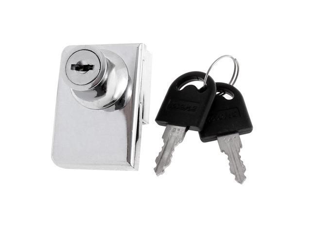 Unique Bargains Display Cupboard Cabinet Glass Door Toolbox Safe Drawer  Lock w 2 Keys - Newegg com