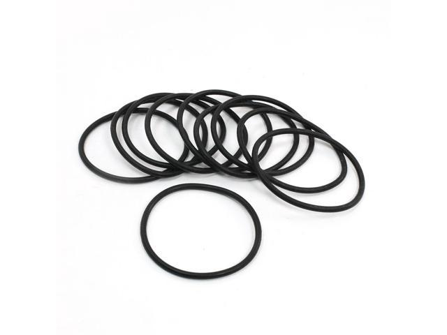 unique bargains 10pcs 57mm x 3 1mm flexible poly urethane
