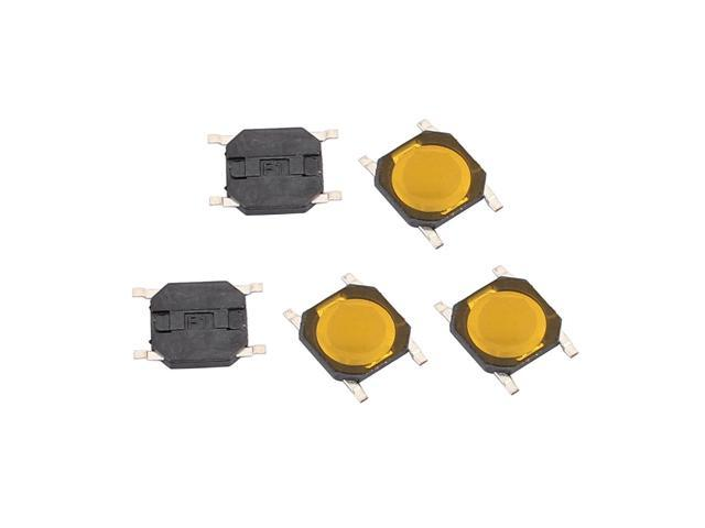 20Pcs 4 Pin Square 4mmx4mmx0.8mm Momentary SPDT Mini Push Button Switch