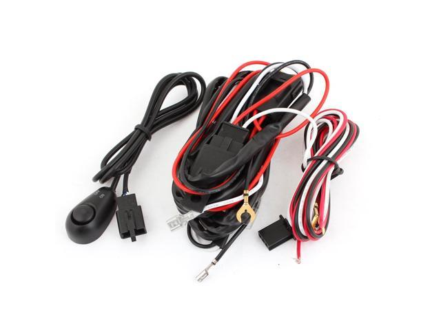Unique Bargains Universal Fog Light Wire Wiring Harness Kit w Control on universal air filter, stihl universal harness, universal ignition module, lightweight safety harness, construction harness, universal fuel rail, universal battery, universal steering column, universal fuse box, universal equipment harness, universal miller by sperian harness, universal radio harness, universal heater core,