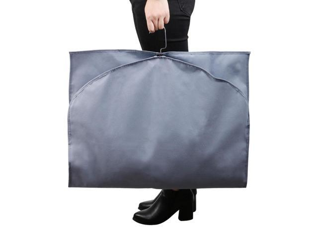 f7c8c9346626 Garment Cover Bags Storage Bag Dress Suit Coat Carriers Protector Gray 47  Inch - Newegg.com