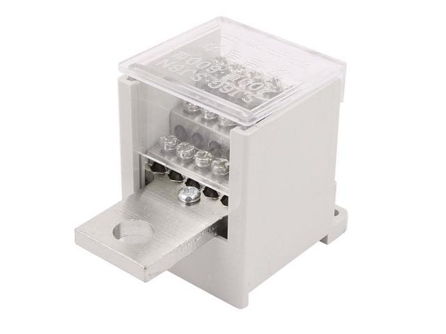 Unique Bargains Switch Terminal Wire Barrier Block 1Inlet 18Outlet f  Miniature Circuit Breakers - Newegg com