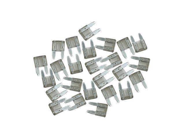 car fuse universal gray replacement blade type small fuses