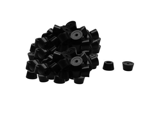 Racks /& Rack Cabinet Accessories .87 Rubber Foot 5 pieces