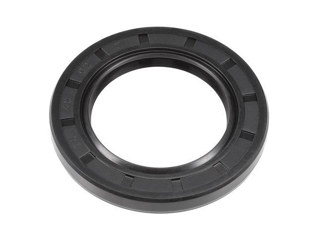 Oil Seal TC 35mm x 47mm x 7mm Nitrile Rubber Cover Double Lip