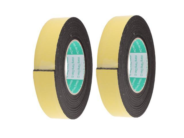 4M 25mm x 3mm Single Side Adhesive Foam Sealing Tape for Door Window