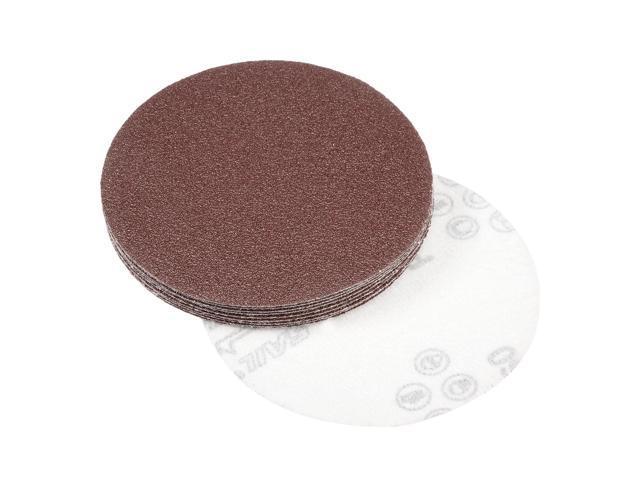 """10Pcs 4/"""" 60 Grit Sanding Disc Random Orbit Hook /& Loop Sandpaper Sander"""