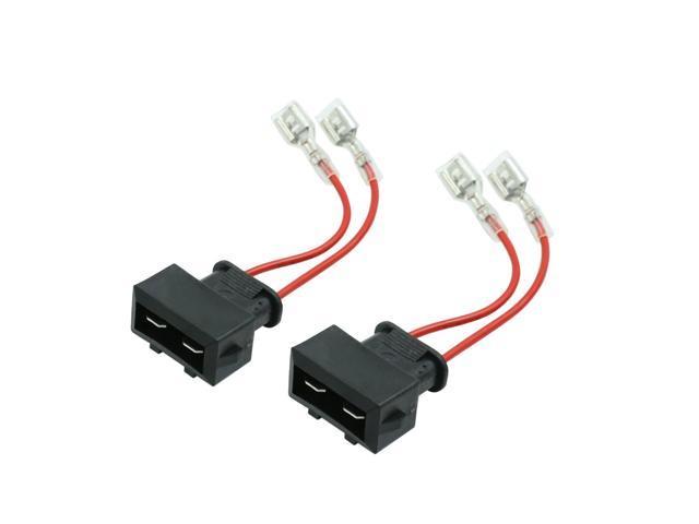 speaker wiring harness adapter dc 12v car speaker wire harness adapter connector for volkswagen  dc 12v car speaker wire harness adapter