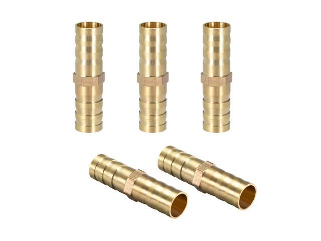 Pack of 5 Fuel Joiner Barbed Hose connector *Top Quality! 10mm Straight