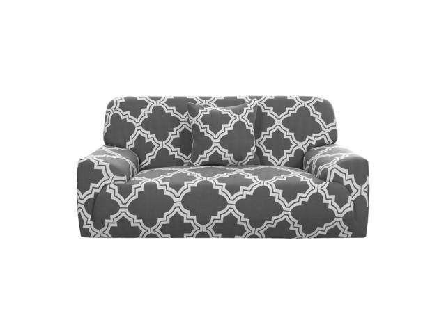Stretch Sofa Cover Couch Cover 3 Seater Polyester Spandex Fabric 1-Piece  Sofa Slipcover for Chair Loveseat Sofa Elastic Furniture Protector with One  ...