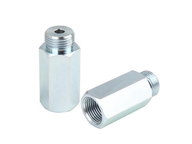 O2 Oxygen Sensor Extender Extension Spacer Adapter CEL Fix M18*1.5 55mm