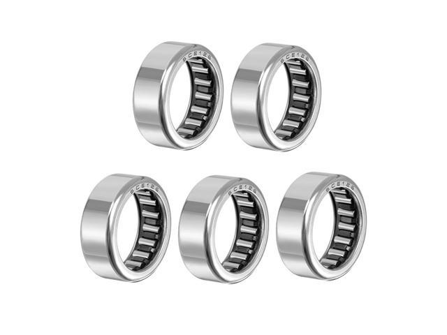 """SCE126 Needle Roller Bearings Drawn Cup Open End 3//4/"""" Bore 1/"""" OD 3//8/"""" Width 5pcs"""