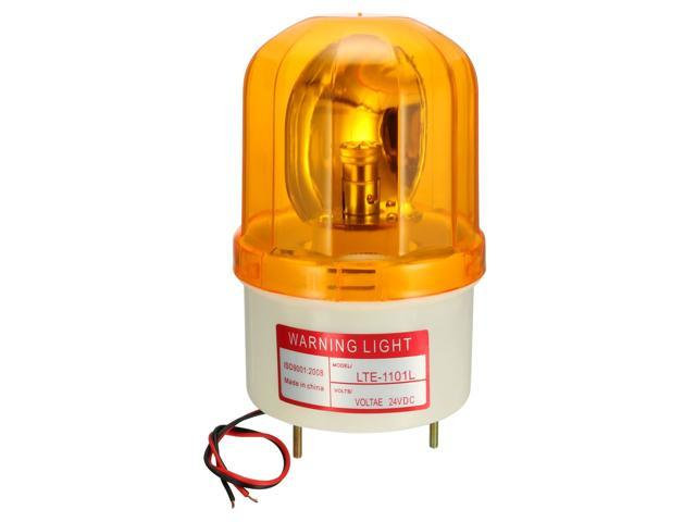 Industrial DC 24V LED Flash Strobe Light Emergency Signal Lamp Red LTE-5051