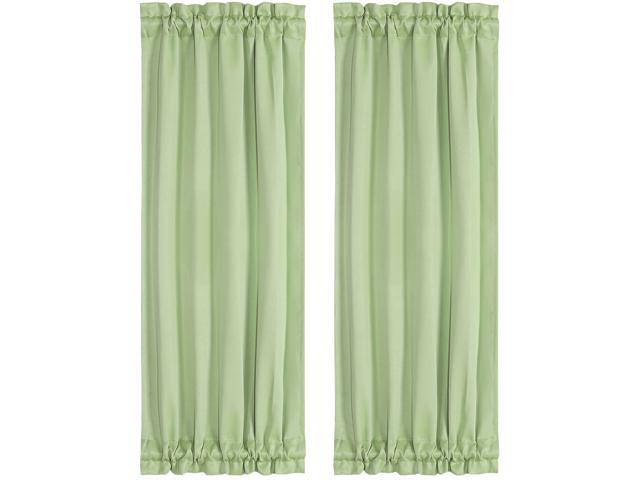 Thermal Insulated French Door Curtain
