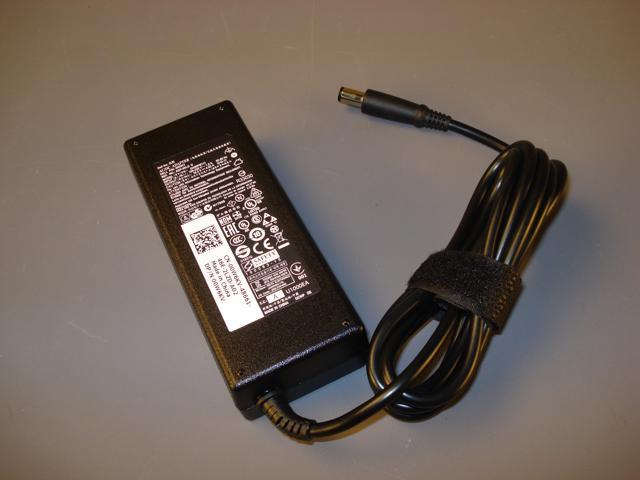 Genuine Dell 0W6KV AC Adapter - 19 5V 90W 4 62 A - Compatible to Dell  Parts: Y808G, Y807G, D094H, C120H, DA90PE1-00, WK890, 330-1825 - Newegg com