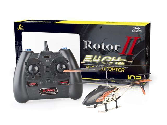 Microgear 2 4GHz Technology RC FX-601 Helicopter 3 5CH w/ Gyro Charge via  USB - Newegg com