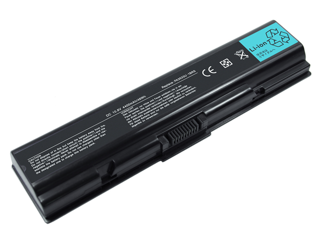 Superb Choice® 6-cell TOSHIBA Satellite L455-S5975 Laptop Battery