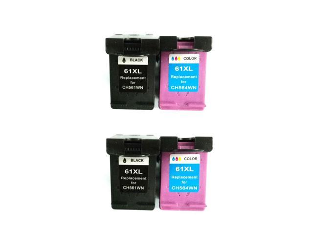 Superb Choice Remanufactured Ink Cartridge For Hp 61xl Black