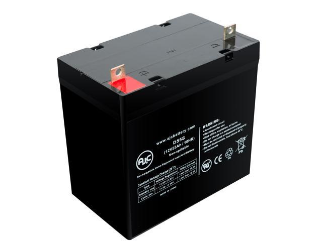 This is an AJC Brand Replacement APC Back-UPS 600 12V 9Ah UPS Battery