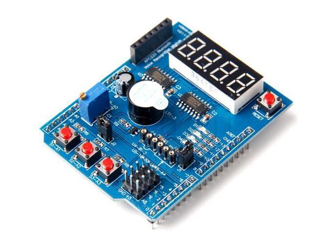 Multifunctional expansion board shield kit based learning