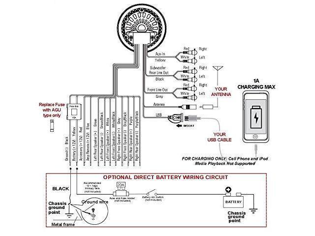 Boss Marine Radio Wiring Diagram