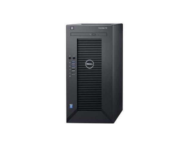 Dell PowerEdge T30 Mini-tower Server - 1 x Intel Xeon E3-1225 v5 Quad-core  (4 Core) 3 30 GHz - 8 GB Installed DDR4 SDRAM - 1 TB (1 x 1 TB) Serial