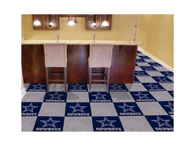 Nfl Dallas Cowboys Carpet Tiles 18 X18