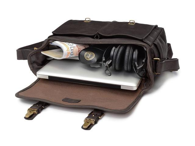 Lencca Charcoal Camera Messenger Bag for Nikon Digital Compact//Premium Compact Cameras