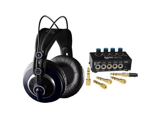 16f6c1e081c AKG K240 MKII Professional Studio Headphones with Knox Gear Headphone  Amplifier - Newegg.com