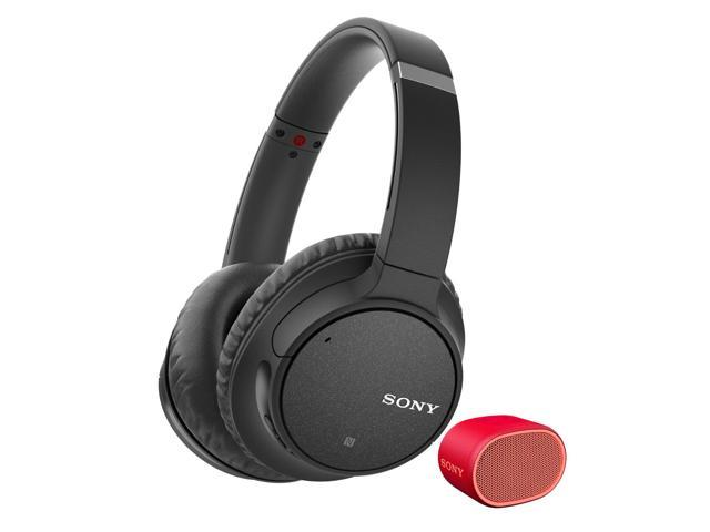 Sony WH-CH700N Wireless Noise Canceling Headphones (Black) w/ Sony XB01 bundle