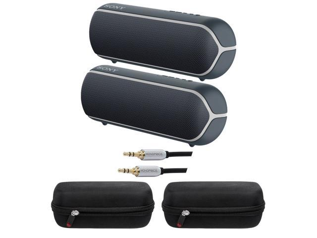 Sony Srs Xb22 Extra Bass Portable Bluetooth Speaker Black Srsxb22 B Bundle Newegg Com