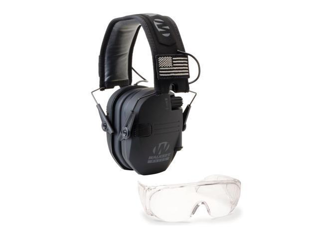 Black Patriot Version Walker/'s Razor Slim Electronic Muff