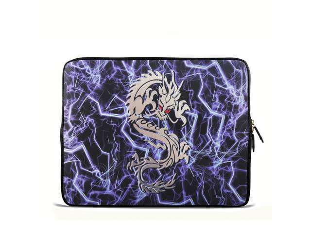 Surprising Lightning Dragon 6 7 7 85 Inch Tablet Case Sleeve Carrying Bag Cover With Handle For Apple Ipad Mini Samsung Galaxy Tab P3100 P6200 Kindle 7 Home Interior And Landscaping Staixmapetitesourisinfo