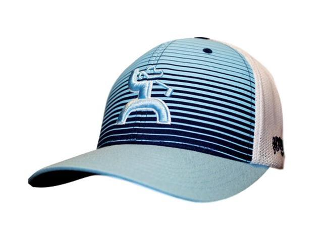 1fafae2faeb HOOey Hat Mens Golf Collection Flexfit Long Drive L XL Blue 1505 ...