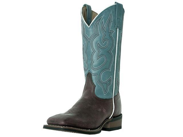5230b958fdd Laredo Western Boots Womens Mesquite Stockman 10 M Gaucho Blue 5627 -  Newegg.com