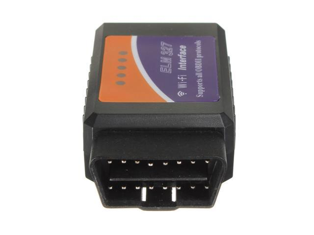 WiFi WLAN OBD2 ELM 327 Car Code Scanner for iPhone iOS diagnostic scan tool