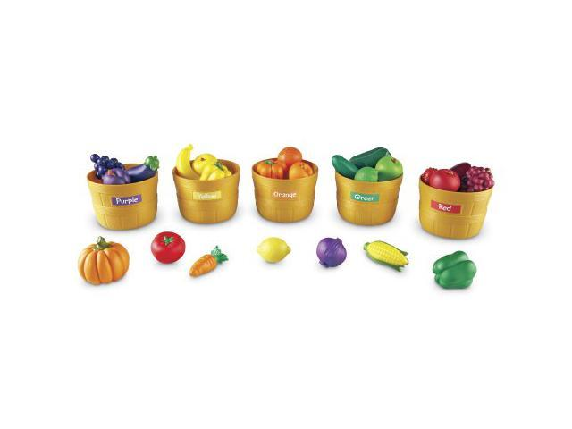 Learning Resources Ler3060 Farmers Market Color Sorting Set Newegg Com