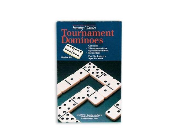 Double Six Urea Tournament Dominoes 3215 12 Pressman Toy Newegg